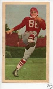 Alex Webster as a Montreal Alouette - 1954 Blue Ribbon Tea Canadian Football #64 Alex Webster-Montreal Alouettes #CFL #NYG