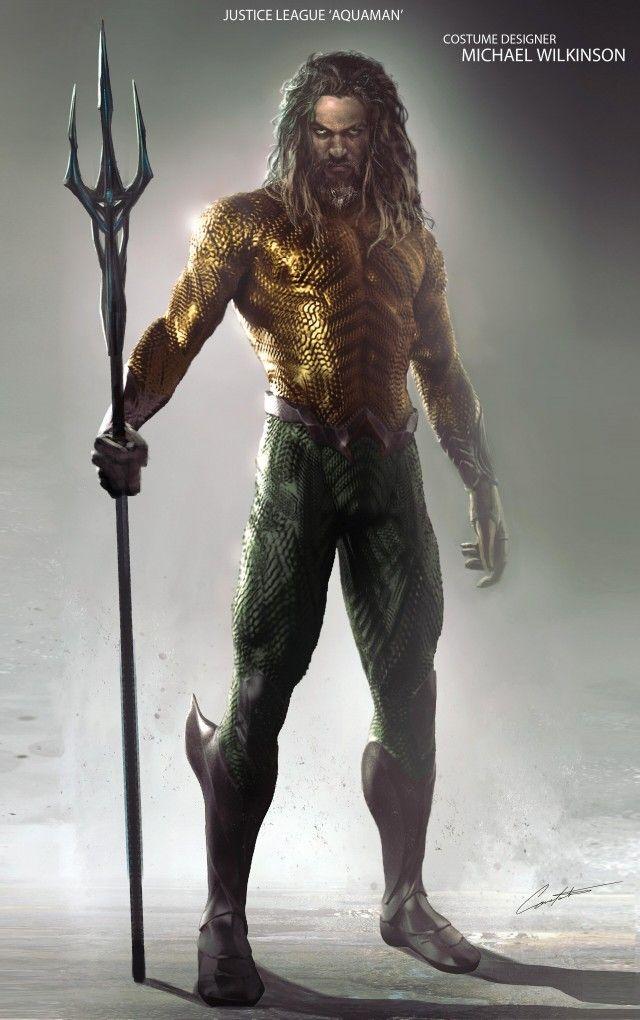 Aquaman New 52 Concept Art