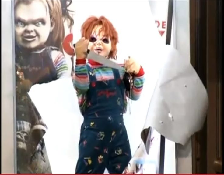 Scary Prank IN THE BRAZIL Chucky Childs Play