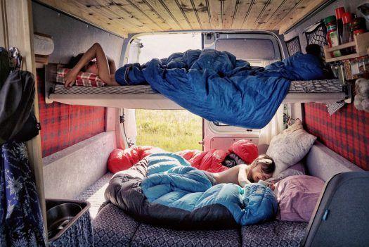 Vanlife: The van conversion pt 2: Bunk beds! – The Horizon Is Calling