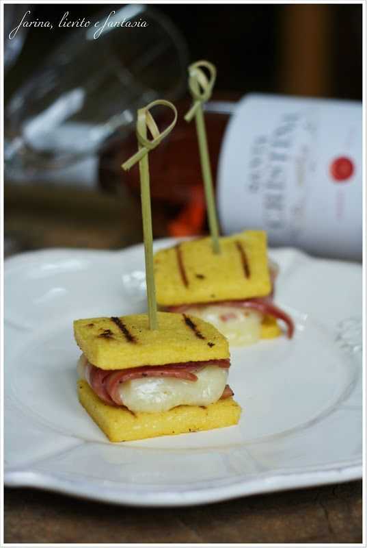 Finger food di polenta