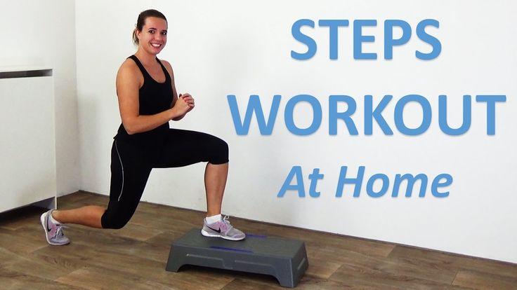 step machine workout routines