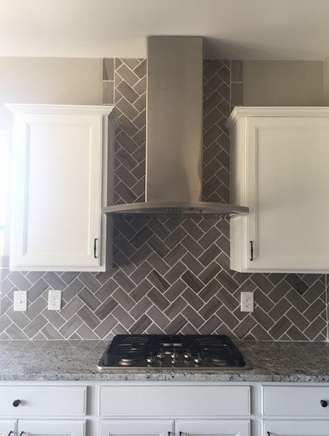 Gray Tiles Kitchen Design