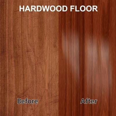 Rejuvenate 32 oz. Professional High-Gloss Wood Floor Restorer-RJ32PROFG - The Home Depot