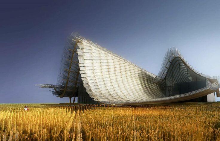 #China #ChinesePavilion #Expo2015