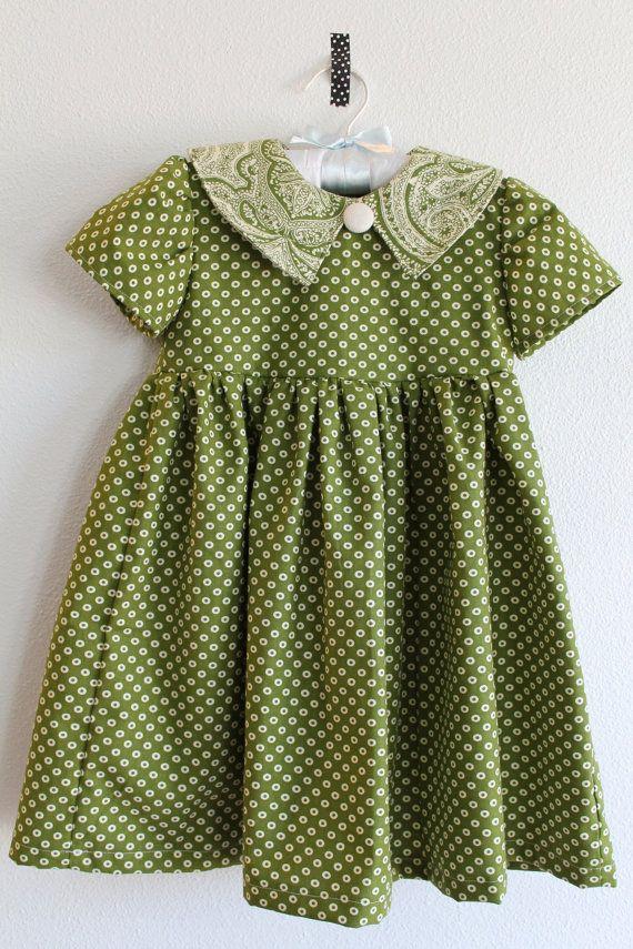 Little girl's dress size 3T. $35.00, via Etsy.