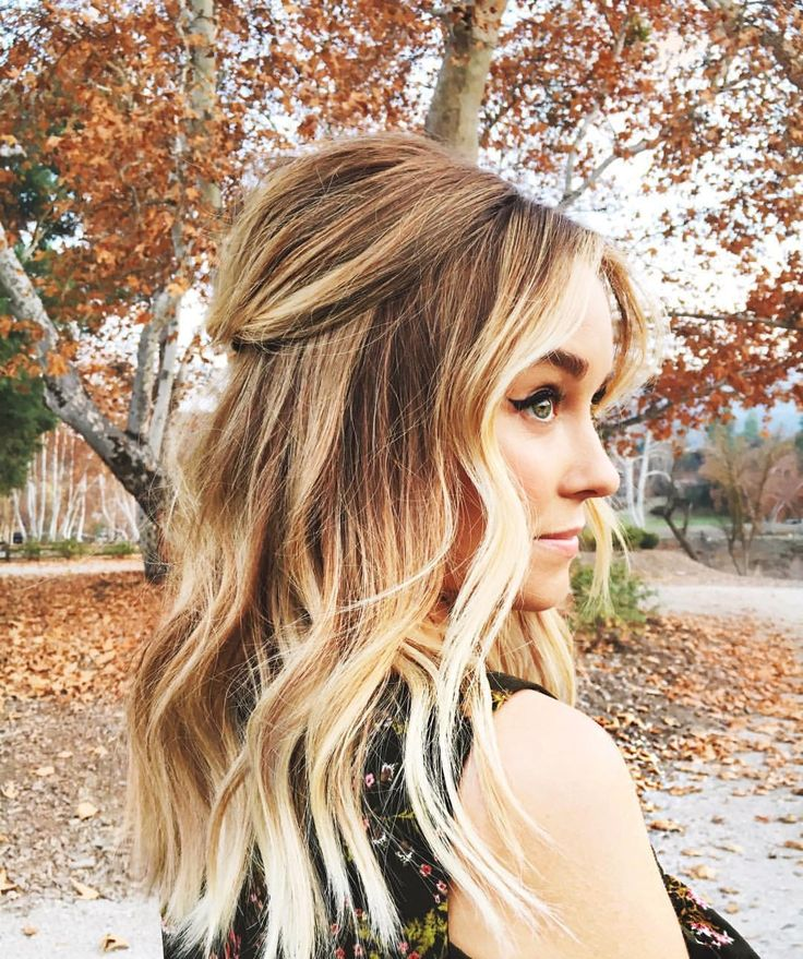 Lauren Conrad always has beautiful hair.