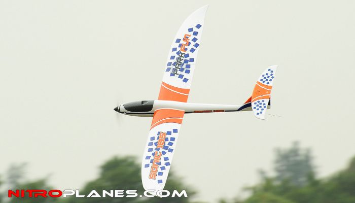 """Big Scale 1.85-Meter (73"""") Dynam Sonic 185 Electric Brushless Radio Controlled RC Glider ARF (Almost Ready to Fly)"""