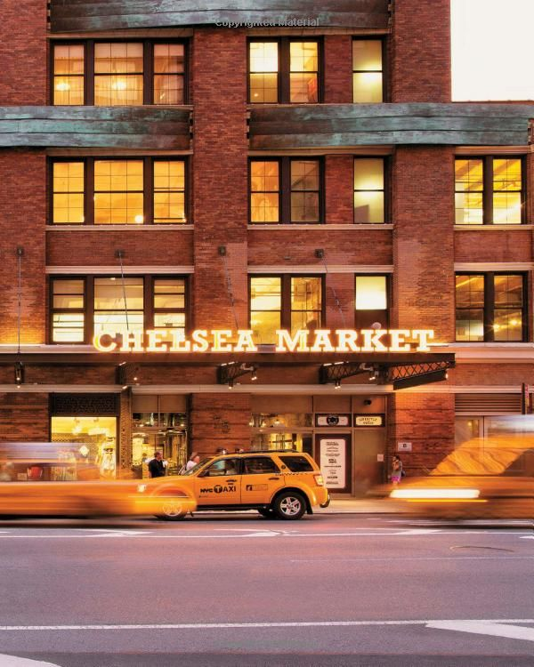 Chelsea Market, with more than 35 stores and restaurants... I think this is necessary for me to check out.