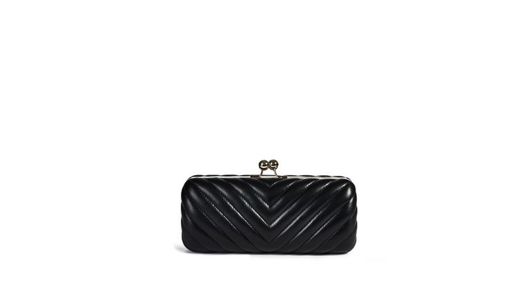 #desafashion #deri #çanta #abiye #clutch #elçantası #bag #chic #elegant #black #leather #fashion