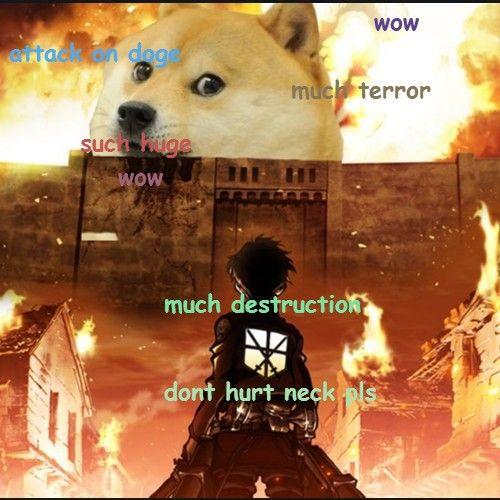 Much Terror Attack On Titan Doge