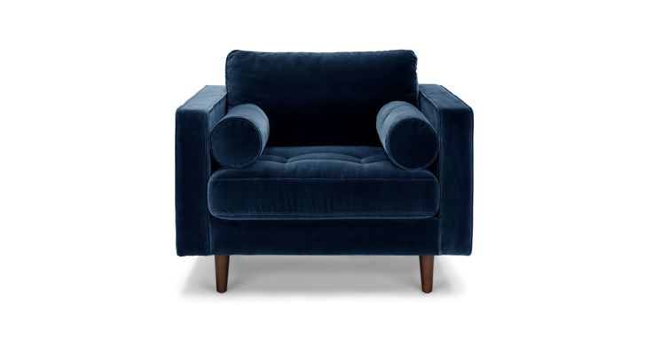 Sven Cascadia Blue Chair - Lounge Chairs - Article | Modern, Mid-Century and Scandinavian Furniture