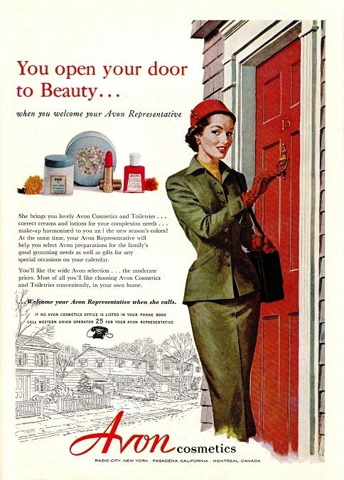 Magdorable!: Avon Cosmetics ad in Good Housekeeping 1953