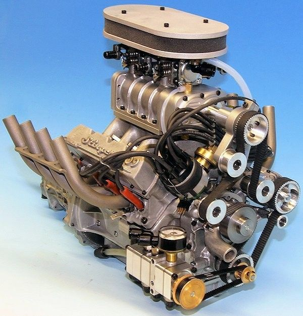 Ford V8 Supercharged Engine – name