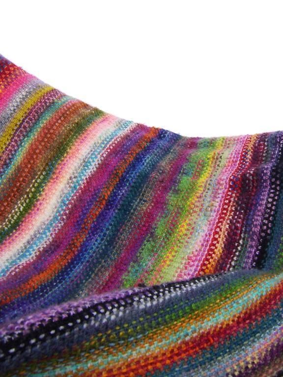Scarf Pattern Made With Sock Yarn Crochet Forever Waves Sock Yarn