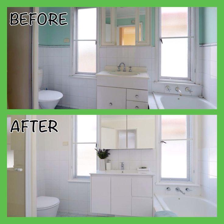 Bathroom #Renovation #beforeandafter