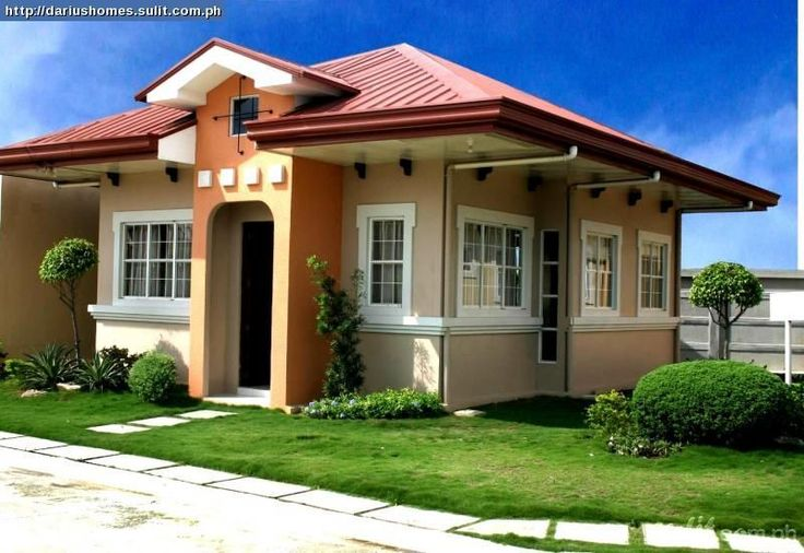 2 bedroom house designs philippines 5 for Small house exterior design philippines