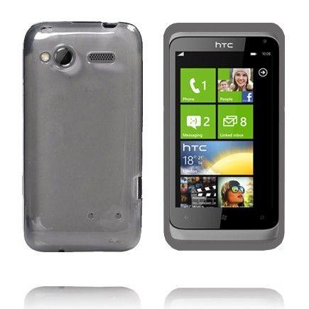 TPU Shell Transparent (Grå) HTC Radar Cover