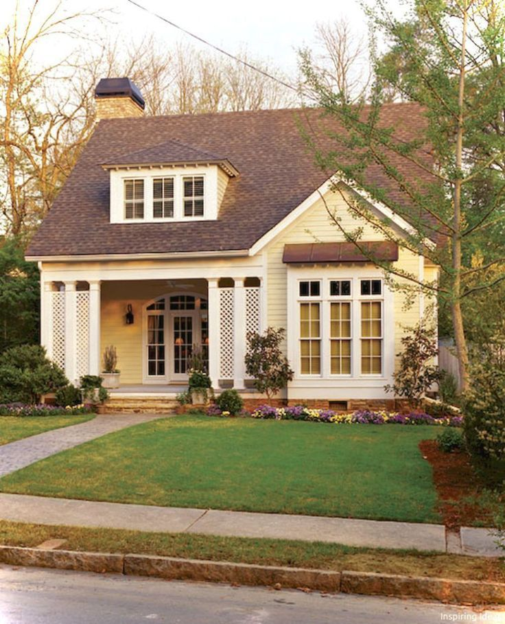 Charming Small Cottage House Exterior Ideas 12 Small Cottage House Plans Cottage House Exterior Small Cottage Homes