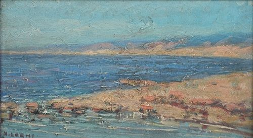 LOGHI KIMON ( 1873-1952 ) Țărm / The seashore
