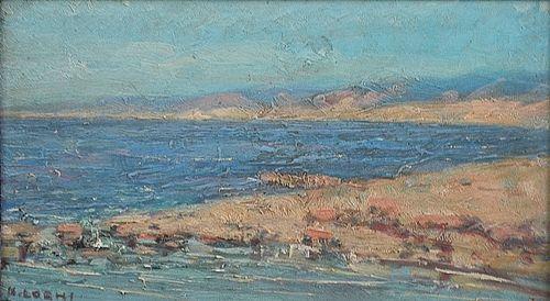 LOGHI KIMON ( 1873-1952 ) Țărm / The seashore