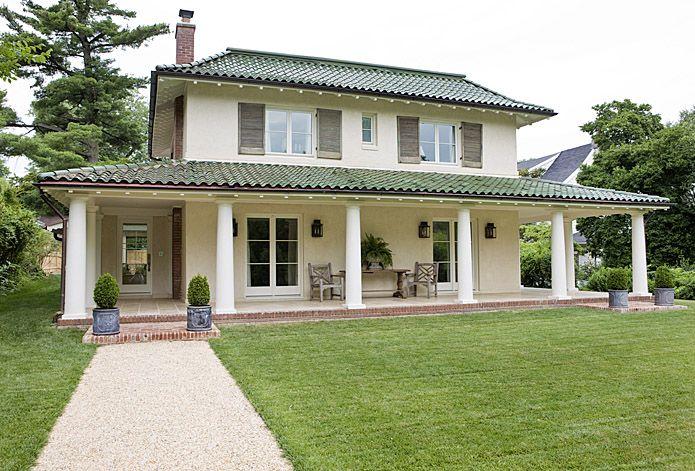 A pale palette the o 39 jays porches and railings - Porches de casas de campo ...