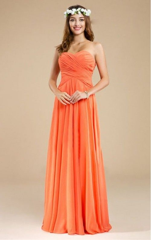 Charming Chiffon A-line Evening Dresses