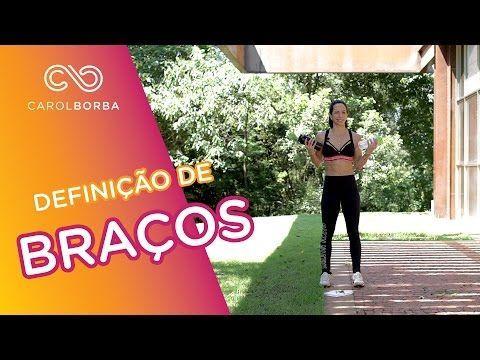 Treino para deixar a coxa durinha - frente da coxa-quadríceps - Carol Borba - YouTube