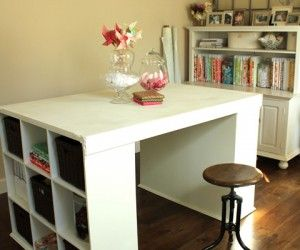18 Amazing Long Craft Table Pictures Ideas