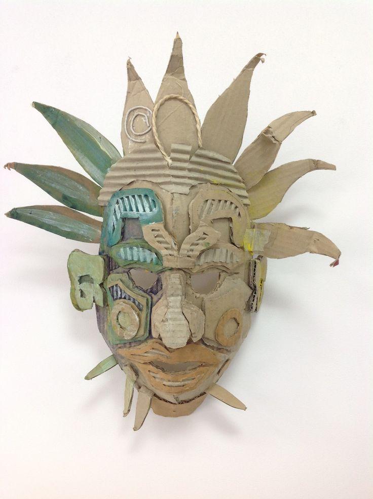 Cardboard mask design