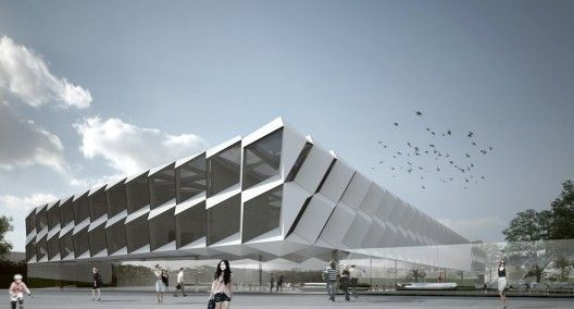 PSJM: Pools and Public Sports Complex / AND-RÉ