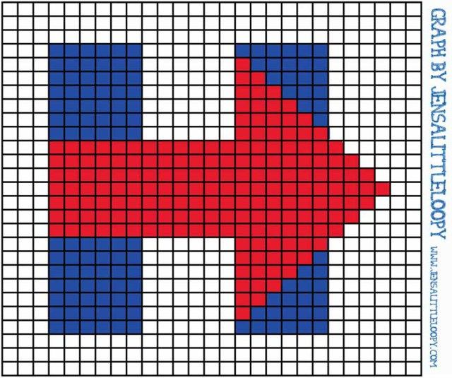 #ImWithHer, support Hillary Clinton with this 8 bit chart for crochet or crafting by jensalittleloopy.com