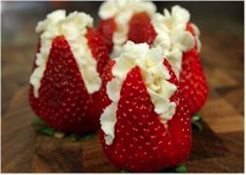 Fragole farcite #ricettedolci