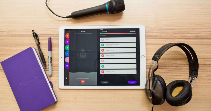 Anchor's iPad app is an allinone podcast studio