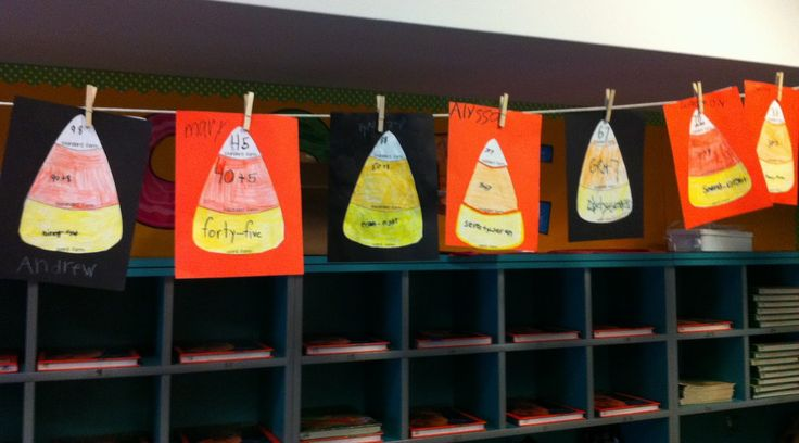 Candy corn place value freebie