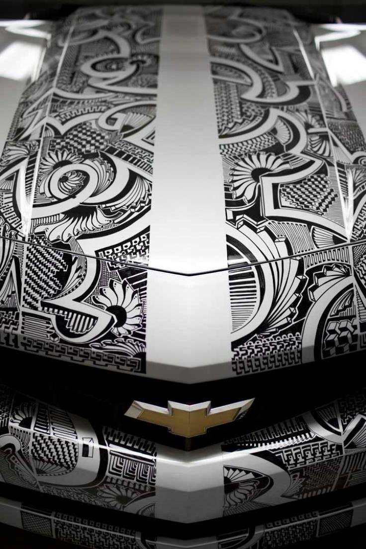 Sharpie Camaro by Chris Dunlop Photo Gallery - Autoblog