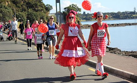 $8 for One Junior Entry / $16 for Two Junior Entries / $14 for One Adult Entry / $27 for Two Adult Entries to The Jennian Homes Mothers Day Fun Run/Walk in Paihia - Sunday 10th May 2015