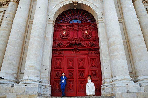 Свадебный фотограф в Париже. - Venchanie