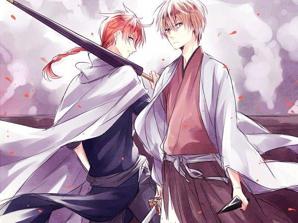 Kamui & Sougo   Gintama