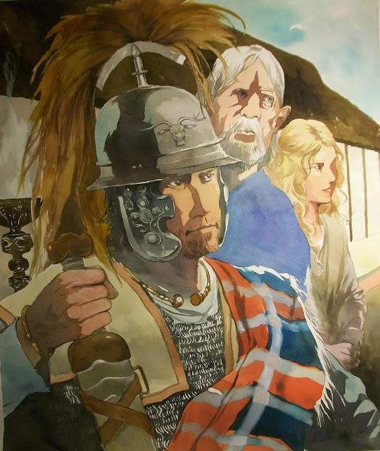 La guerre des Gaules: Vercingetorix, Gutuater & Eponine