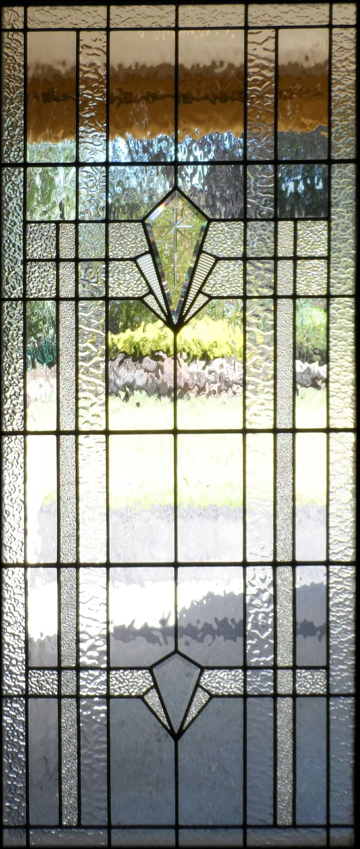 Art Deco leadlight by Adelaide Leadlight