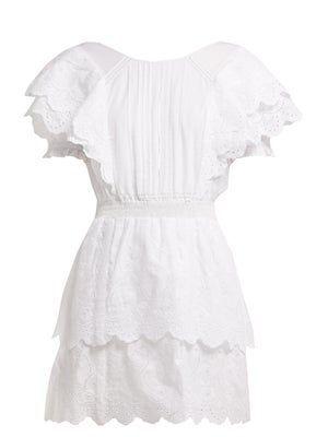 Super asymmetric cotton-poplin midi dress – #asymmetric #cotton #CottonPoplin #d…
