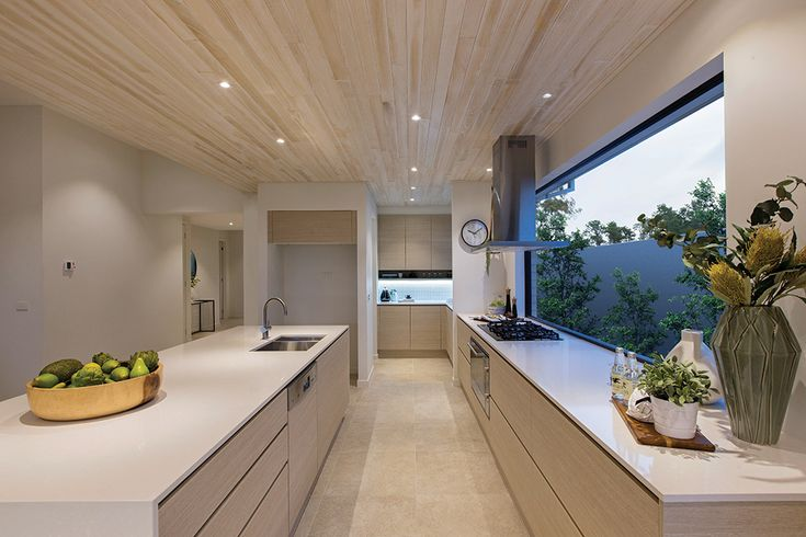 Vermont kitchen on display at Woodlea with a Cottesloe World of Style.