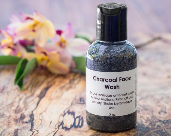 Charcoal Face Wash  Oily Skin Face Wash  Acne by BeatnikNaturals