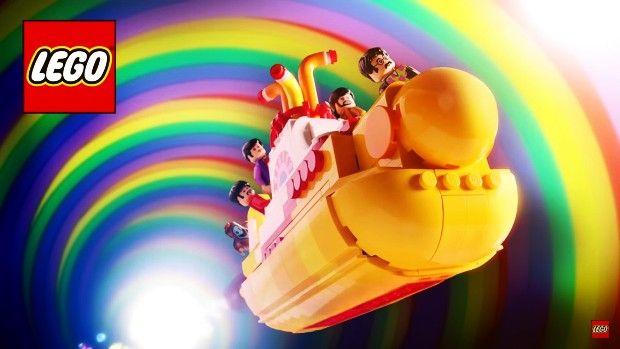 """Lego Yellow Submarine, a miniatura inspirada no famoso filme de 1968 dos Beatles, finalmente é lançada no Brasil. Confira os detalhes deste novo item colecionável dos """"4 rapazes de Liverpool"""".  #geek #colecionáveis #colecionismo #thebeatles #yellowsubmarine #lego #legoideas #brinquedosdehomem"""