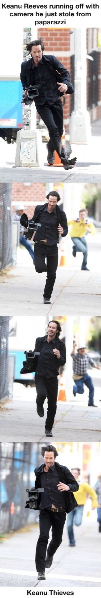 While other paparazzi took these pictures.