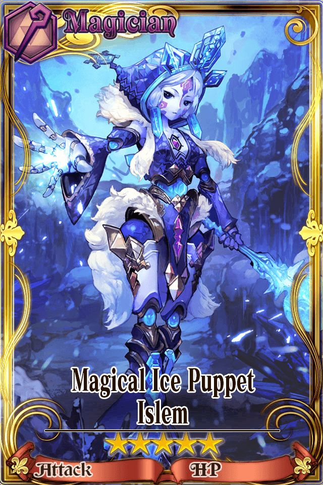 Chain Chronicle - Magical Ice Puppet - Islem