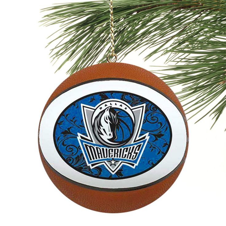 Dallas Mavericks Replica Baseball Ornamet
