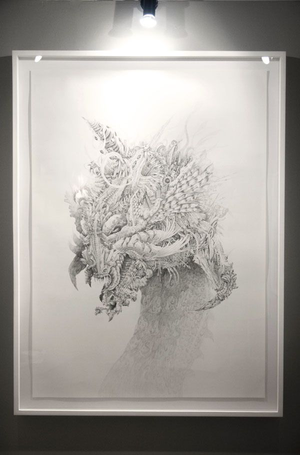 Bestiarum Vocabulum by Shi Chun, via Behance