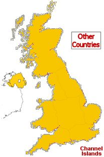 UK Camp Sites for Tent and Caravan Campers - UK Map